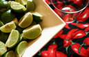 limes and chilies