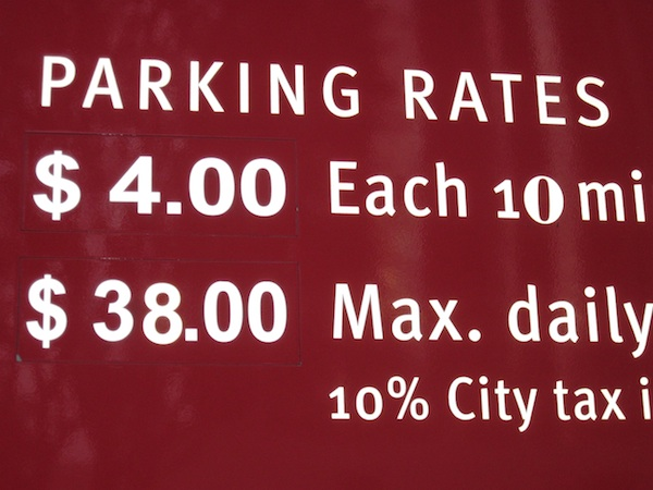 LA parking rates