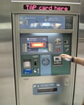 metro ticket machine