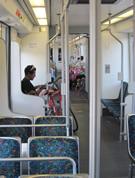 interior of metro
