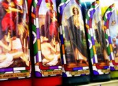 saints candles