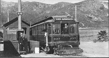 Los Angeles Street Car 1909